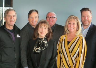 Executive Committee - Rotarians Neil Fay, Bernard Gouin (Chair), Catherine Randazzo, Jim Reinsch, Linda Roth, Mike Pilch