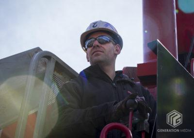 CCKAP 2020.03.14 Installation - Brock Gregory (crane operator - Big Hook Crane & Riggings)