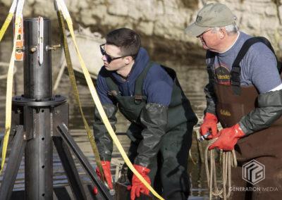 CCKAP 2020.03.14 Installing the pyramids - Josh Donofry & Jim Reinsch
