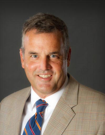CCKAP Rotarian Partner Darrell Guyton (VP, Morgan Keller Construction - Crane costs for installation)