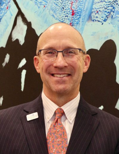 CCKAP Rotarian Partner Steve Heine (CEO, Woodsboro Bank - Website development costs)